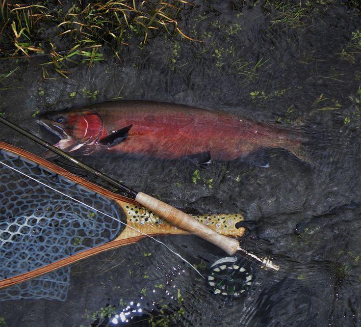 249 best custom fly fishing nets images on pinterest fly for Sierra fly fishing