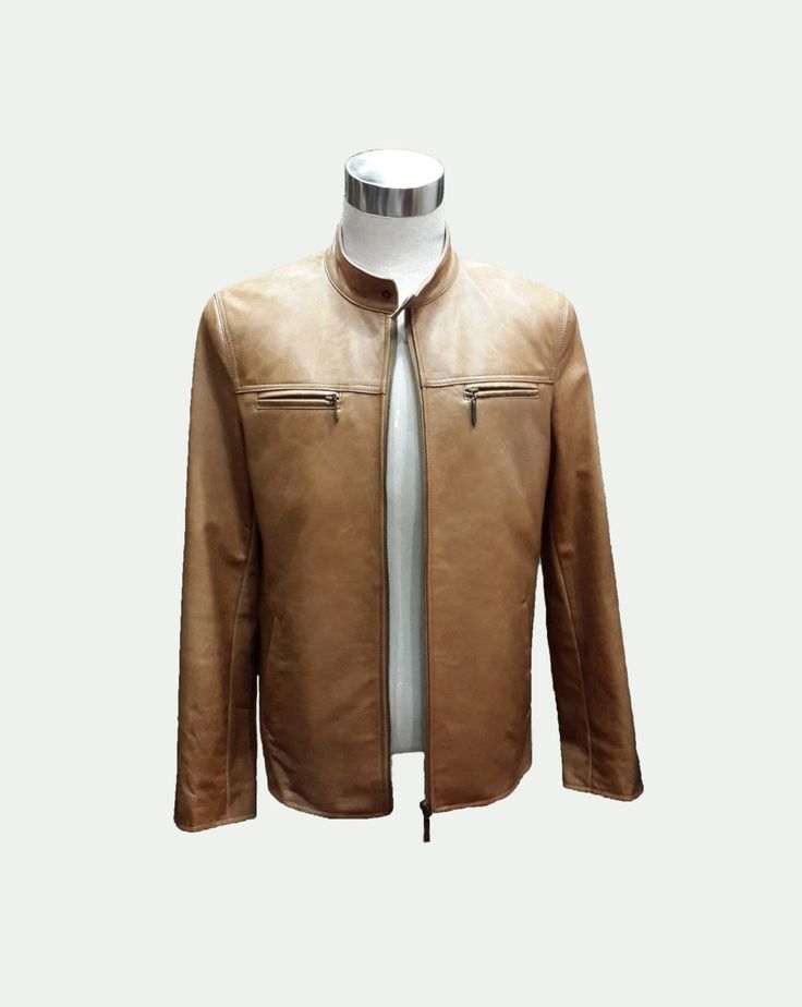 Custom Leather Jacket Men's Leather Jacket by TailoredYourWay