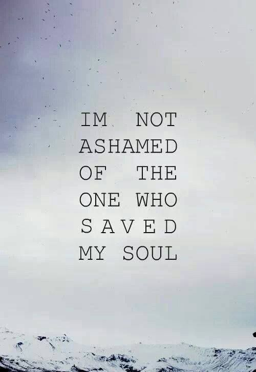 Unashamed!!! #graceandtruthherald #romans116