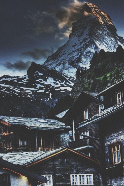 Matternhorn from Zermatt, Switzerland