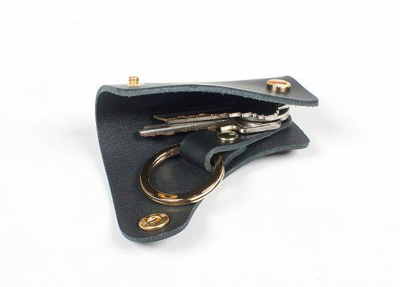 Mens Key case Leather Car key case, Key holder, Leather key case, Men's Gift, Men's Birthday gift