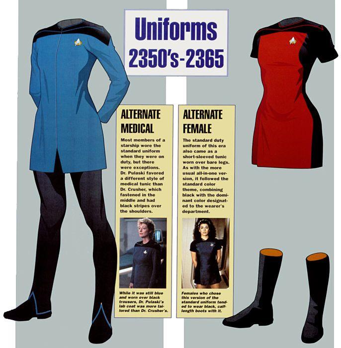 starfleet uniforms | Ex Astris Scientia - Galleries - 24th Century Starfleet ...
