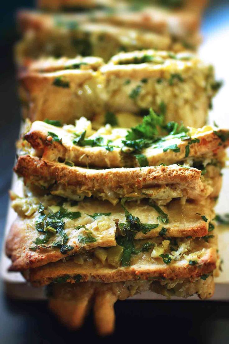 artichoke pull-apart bread