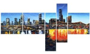 Groupon - Single- and Multipanel Cityscape Art on Gallery-Wrapped Canvas from $ 39.99–$89.99 in [missing {{location}} value]. Groupon deal price: C$39.99