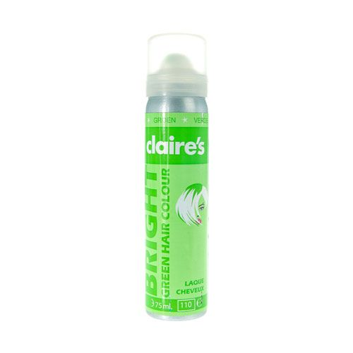 Bright Green Hair Colour Spray