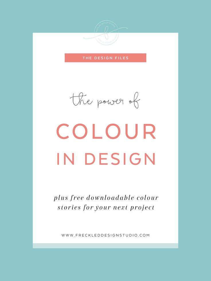 The power of colour in design