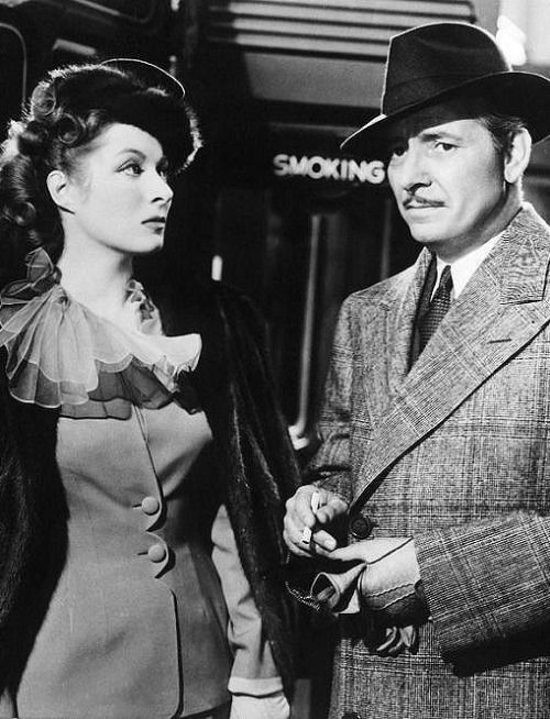 Greer Garson and Ronald Coleman
