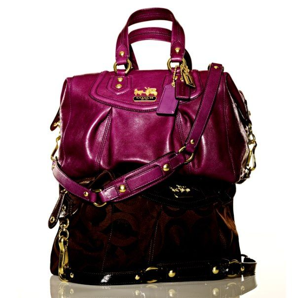 COACH Purses - Madison Collection - Save 50% - 90% on Special Deals at http://www.ilovesavingcash.com   Love both of these purses!