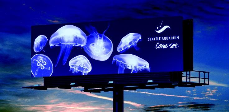 #SeattleAquarium #OOH #OAAA #Billboards #OBIEFInalists #2012