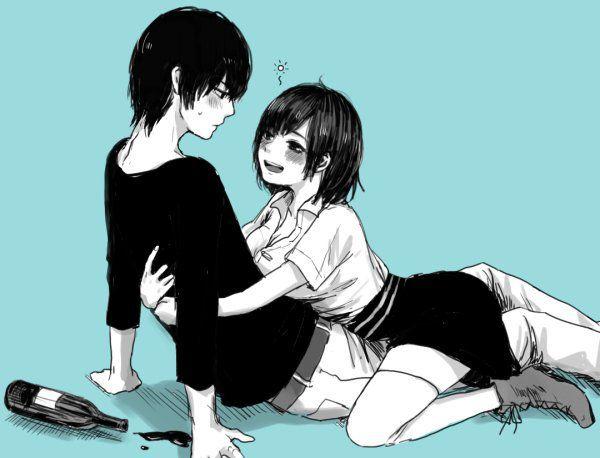 Cute anime couple hugging pics 4 fb division of global - Anime hug pics ...