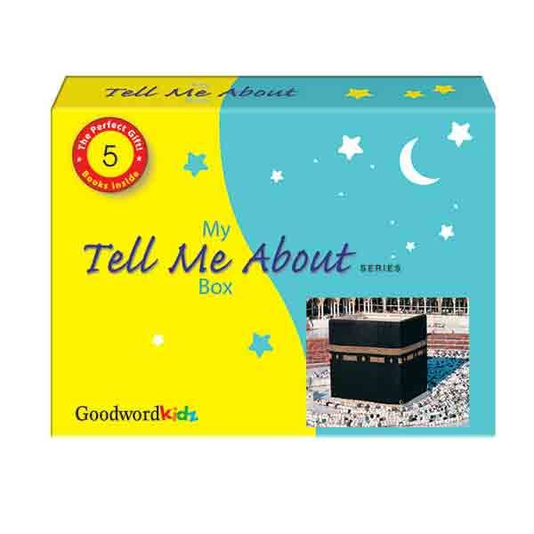 """My """"Tell Me About"""" Gift Box (Gift box of five """"Tell Me"""" Hard Bound Books)"""