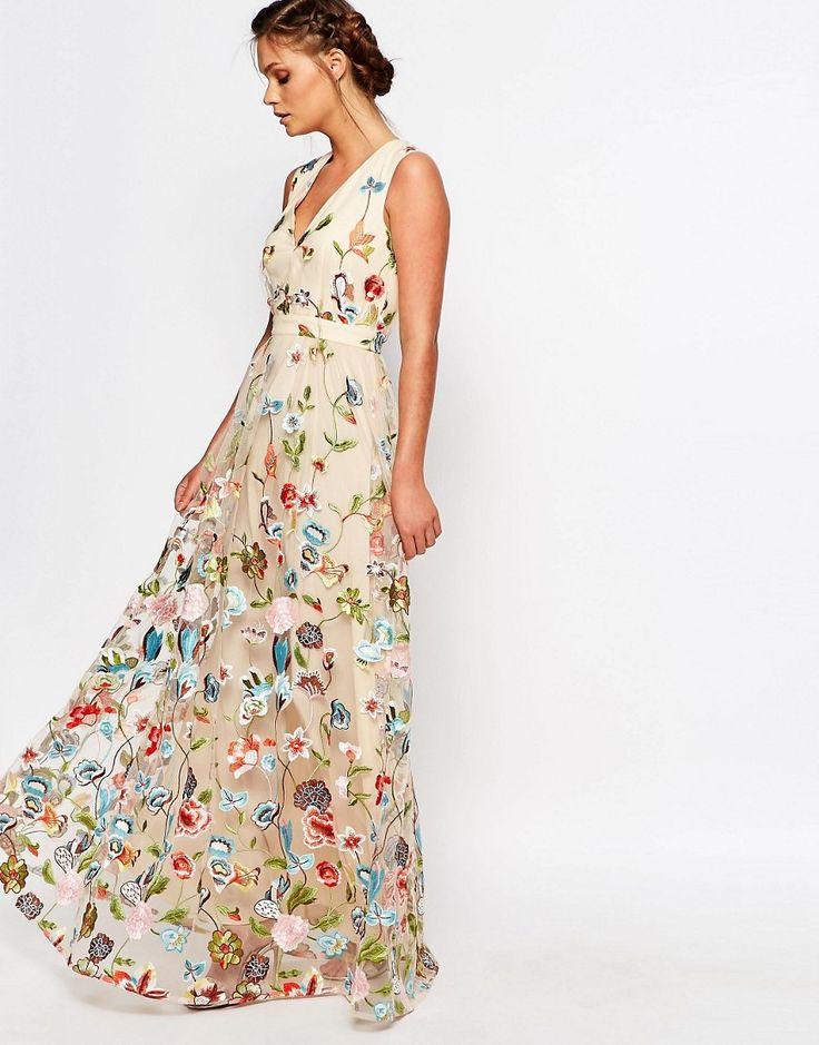 Les 25 meilleures id es de la cat gorie robe maxi fleurs for Maxi robes florales pour les mariages