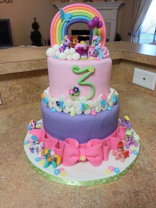 Torte di My Little Pony per Compleanni di Bambini (50 Foto)