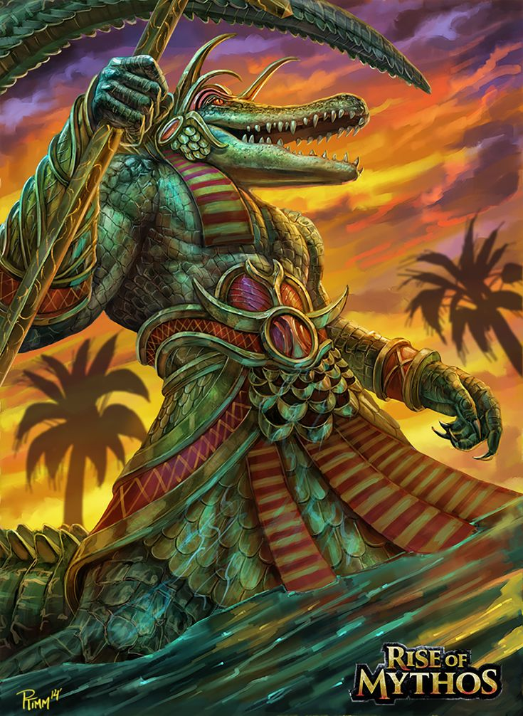 Sobek by PTimm.deviantart.com on @DeviantArt