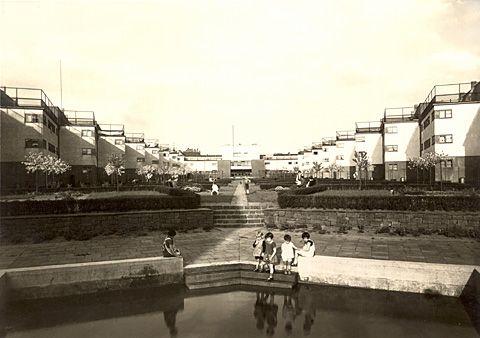 May and Rudloff Bruchenfeldstrasse housing estate, Frankfurt 1925