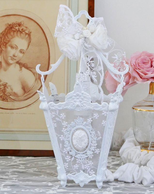 Lanterne à poser, très romantique pour une déco de table de mariage wedding lantern