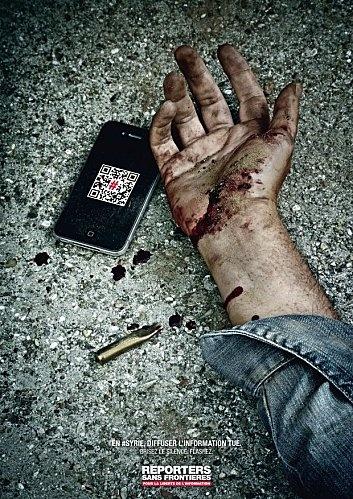 #Deadtweet - reporters sans frontières
