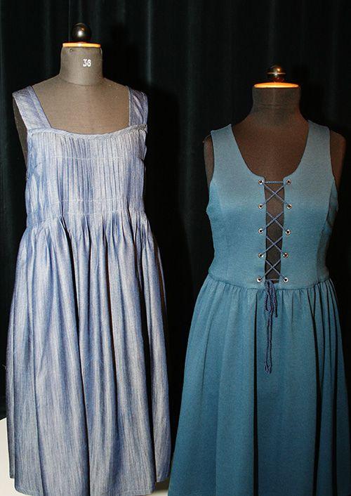 Kansallispuvut innoittivat Oulun seudun ammattiopiston Pikisaaren yksikön vaatetusalan opiskelijoita suunnittelemaan kansallispukujen pohjalta moderneja vaatteita. Näyttelyssä on esillä seitsemän opiskelijan tekemää työtä työselostuksineen. Oulu (Finland)