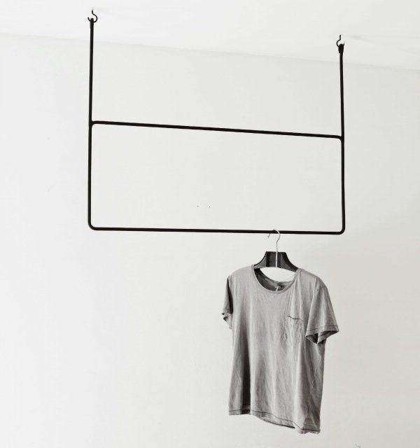 Hand-Made Minimalist Hangers - The Hand-Forged Clothes Hangers Exemplify Scandinavian Minimalism (GALLERY)