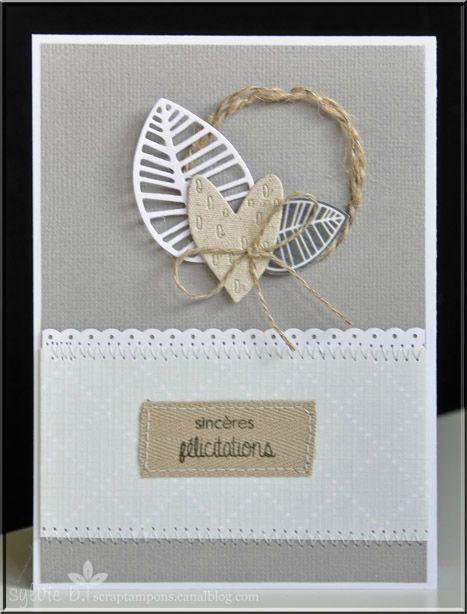 Carte de mariage : http://scraptampons.canalblog.com/archives/2014/09/11/30533791.html