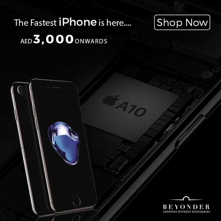 We've got the FASTEST ever iPhone for you and it starts at an awesome price!  Shop now from http://beyonder.co/apple     #iPhone7 #FastestiPhone