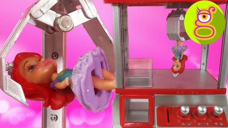 Máquina la Garra llena de Mini Princesas Disney edición especial juguete...