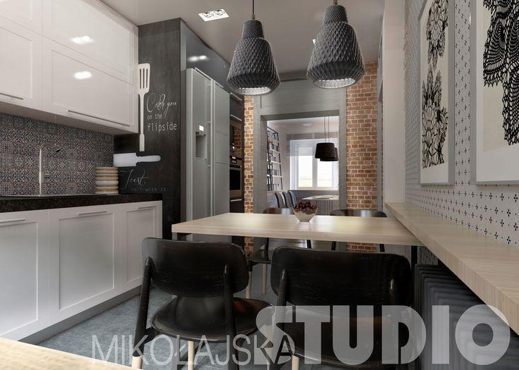 Mieszkanie przy ul. Charlesa de Gaulla w Zabrzu – MIKOŁAJSKAstudio Krystyna Mikołajska