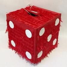 Dice casino las vegas gambling Pinata filled with Sweets Party & Stick
