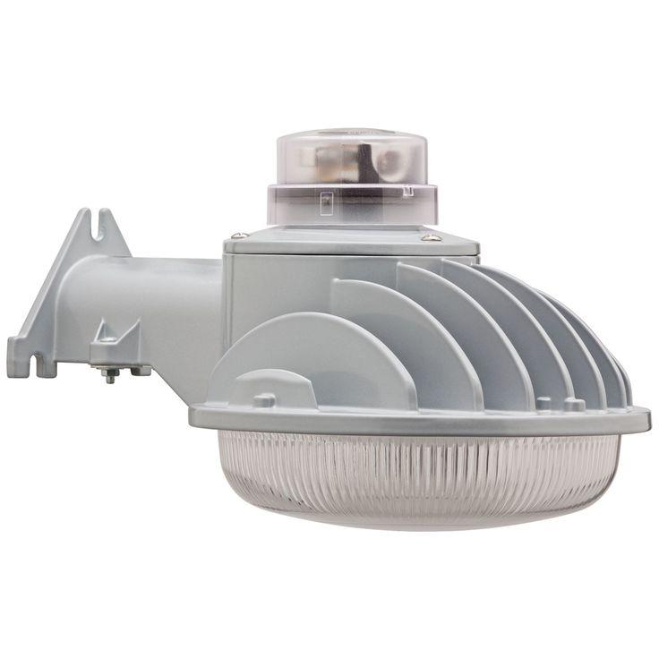 "Aluminum 7"" High LED Dusk to Dawn Yard Security Light - Style # 1X344"