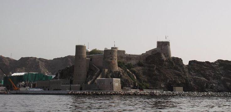 Fort Merani, Muscat Bay,Foto-Oman worldmapz.com