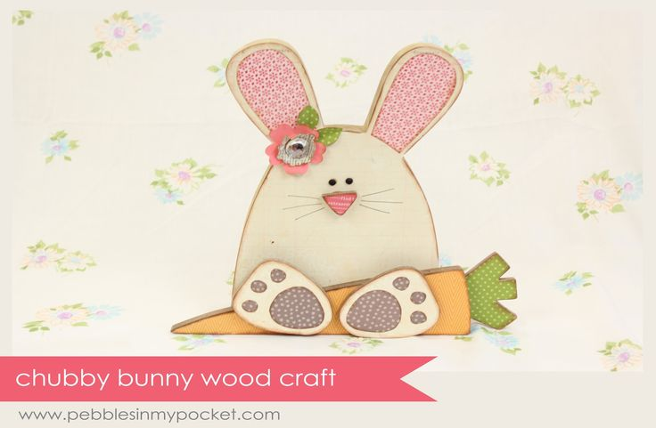 Easter / Spring Wood Crafts available at pebblesinmypocket.com
