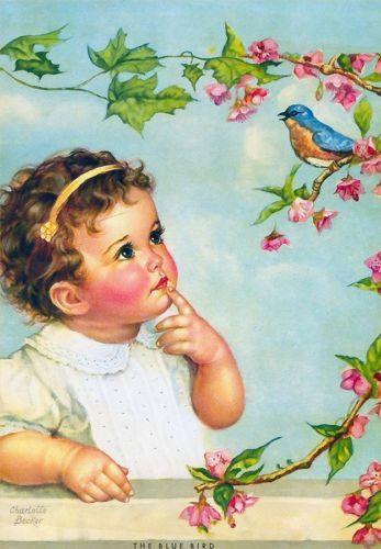 """Charlotte Becker """"The Blue Bird"""""""