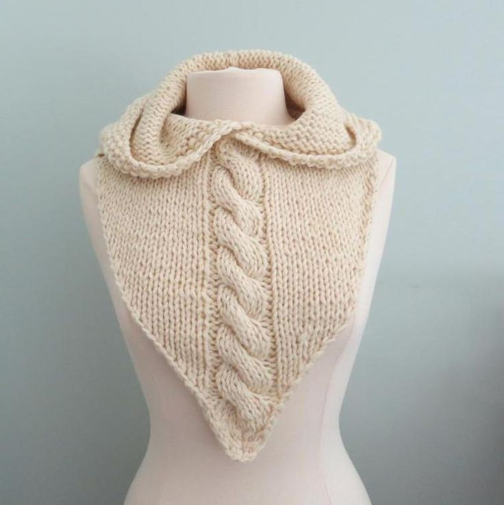 Maid Marian Hoodie Bandana Bulky Yarn   Craftsy