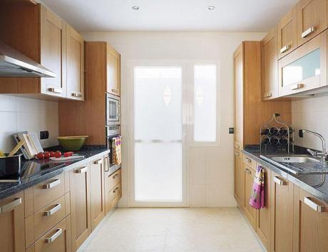 Cocina en paralelo cocina ideas pinterest for Cocinas pequenas en paralelo