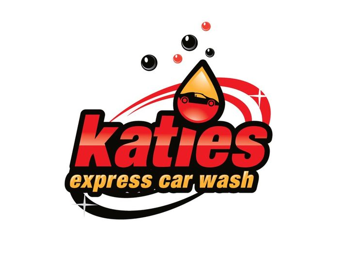 Help katies express car wash with a new logo by Lockers