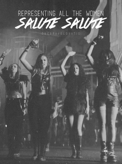 go on vevo and watch Salute so we can break the record for our girls!!