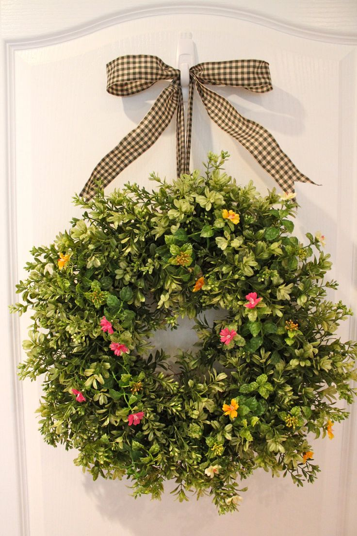 Summer front door wreaths - 96 Best Wreaths Images On Pinterest Diy Wreath Burlap Wreaths And Cotton Wreath