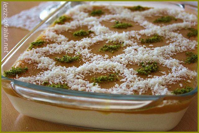 seftali soslu irmik tatlisi by lezizsofralar, via Flickr