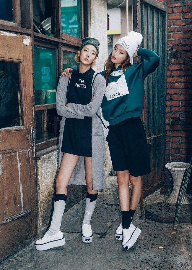 """La marque coréenne Cres E Dim sort son nouveau lookbook """"I'm The Future"""" pour l'automne 2014."""