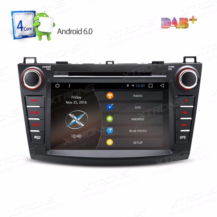 """8"""" Android 6.0 OS Special Car DVD for Mazda 3 2010-2013 with Full RCA Output Support & External DAB+ Receiver Box Support"""