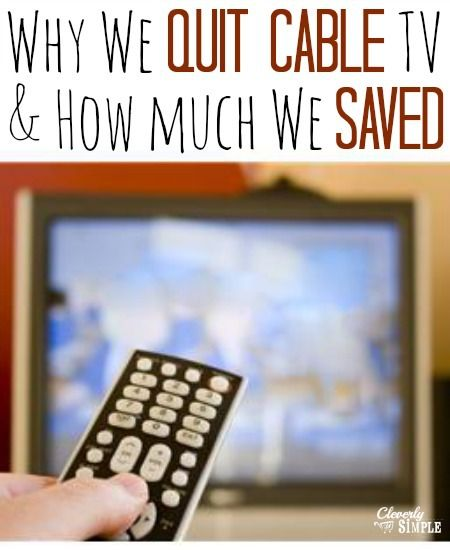 How we saved on Cable TV and the five things we bought so that we don't miss it!