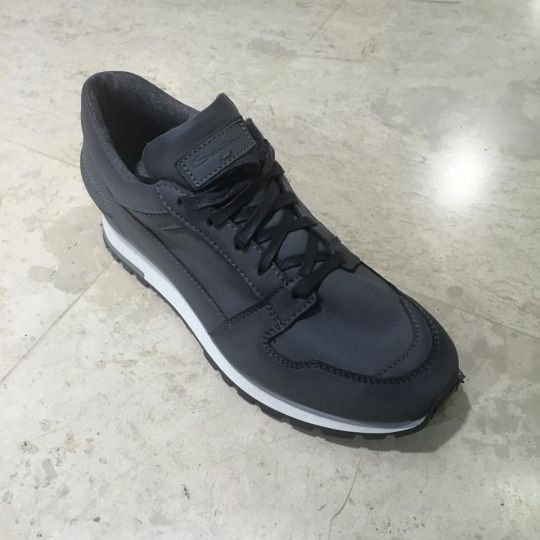 #Santoni low-top leather #sneakers