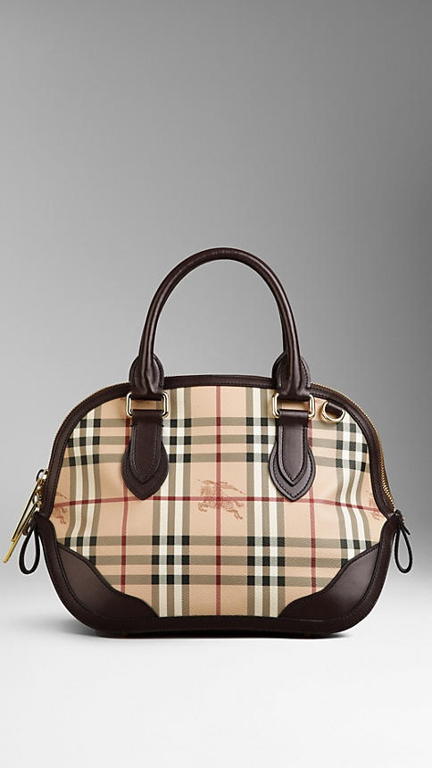 The Small Orchard in Haymarket Check | Burberry