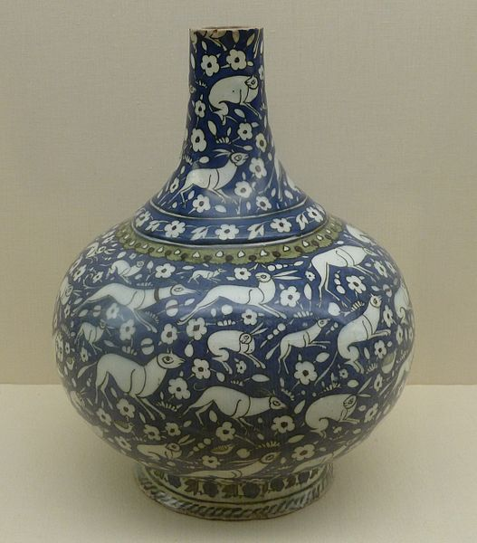 Animal Decorated Ottoman Pottery