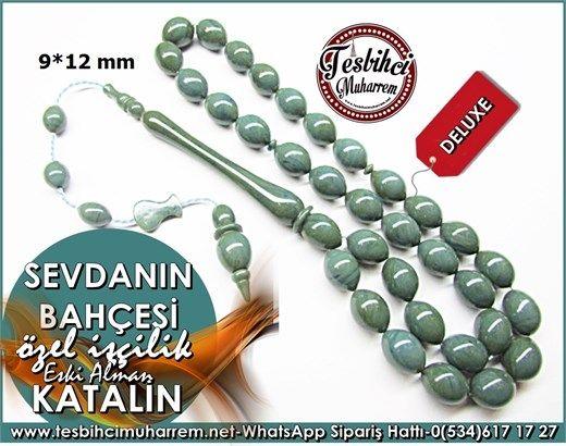 Özel İşçilik Antika Saat Kasasından Grimsal Katalin Tesbih 9*12 mm Sevdanın BahçesiÜrün Kodu: TM7914
