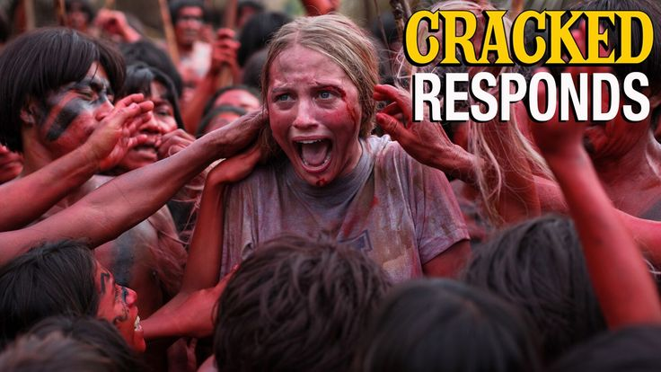 So, uh, we're not exactly sure what this movie is trying to tell us. #GreenInferno #CrackedResponds http://www.cracked.com/video_19496_cracked-responds-green-inferno-trailer.html