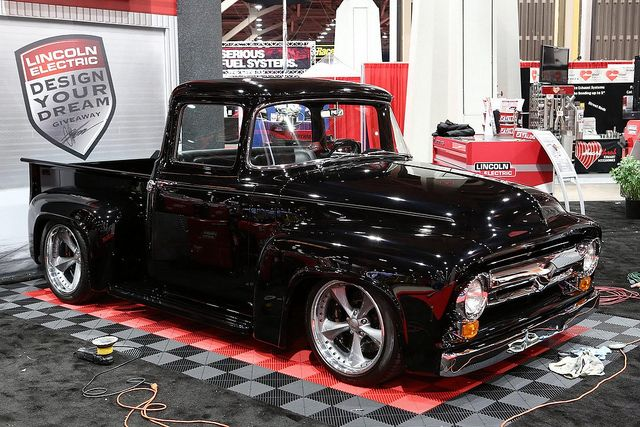 1 Cool Hot Rod Truck @ SEMA Show 2012. the F100 was just the best looking of truck of all, in my humble opinion!