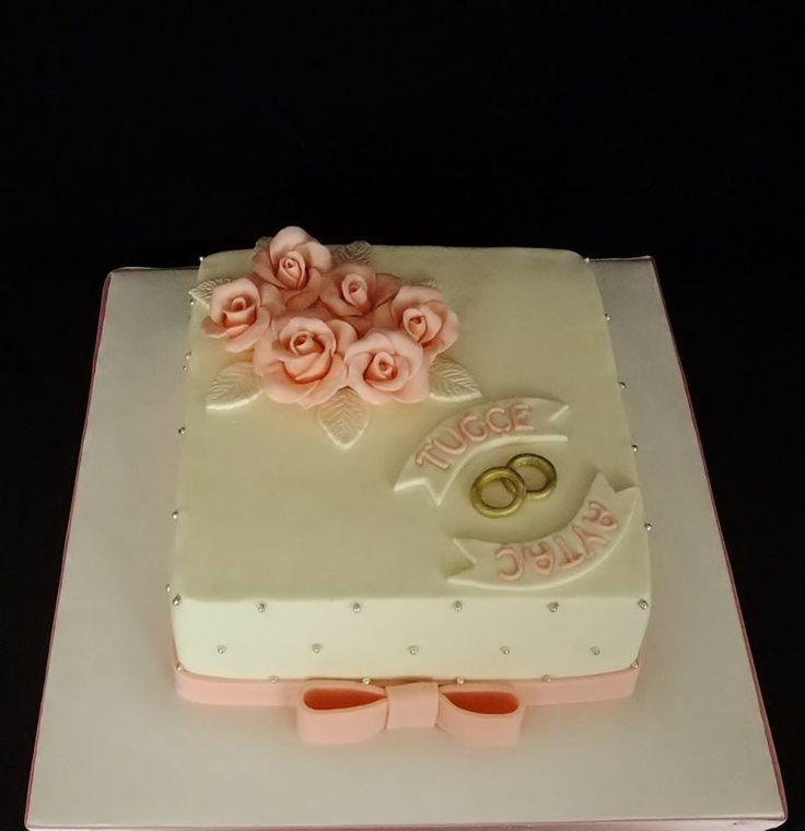 Söz ve Nişan pastası,Wedding cake