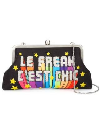 Sarah's Bag 'Le Freak C'est Chic' embellished clutch