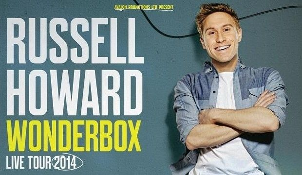RUSSELL HOWARD: WONDERBOX LIVE  See full offer details, terms  conditions at:  https://www.tastecard.co.uk/plus/entertainment/comedy/russell-howard-wonderbox-live-tour *Please Note: This offer is only open to tastecard+ members